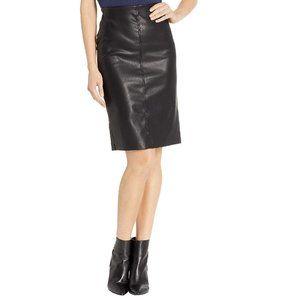 BLANKNYC Denim Faux Leather Pencil Skirt